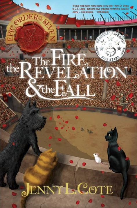 The Fire, the Revelation, and the Fall (Book Six) Personalized by Jenny