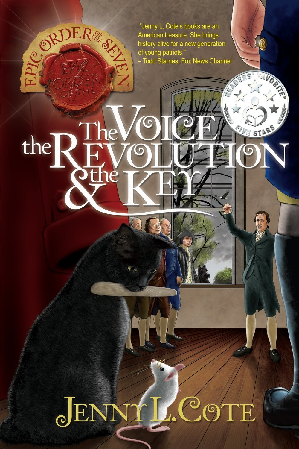 The Voice, the Revolution, and the Key (Book Seven) Personalized by Jenny