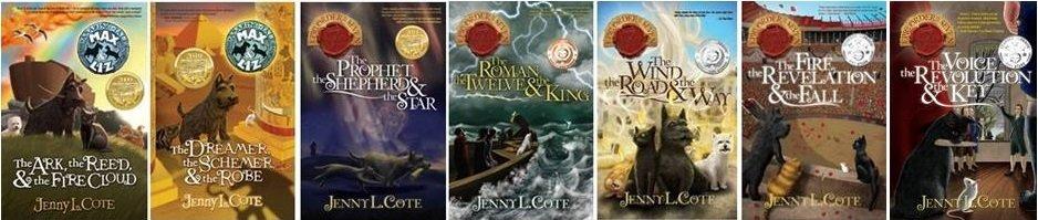 Seven Book Bundle: Ark, Dreamer, Prophet, Roman, Wind, Fire, Voice (Personalized)