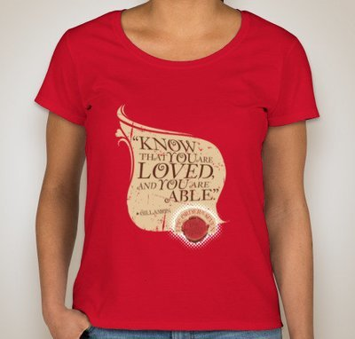 Know that You are Loved and Able Women's T-shirt