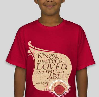 Know that You are Loved and Able Youth T-shirt
