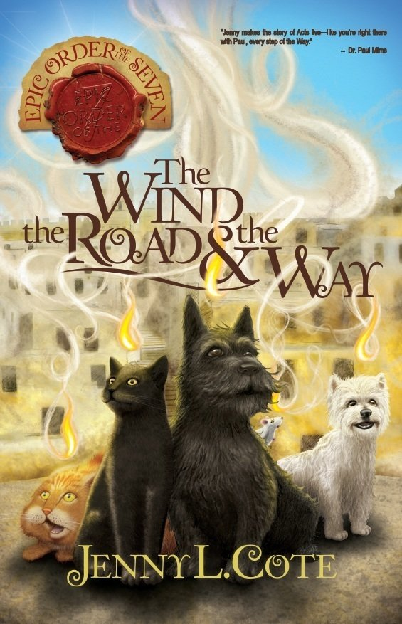 The Wind, the Road, and the Way (Book Five) Personalized