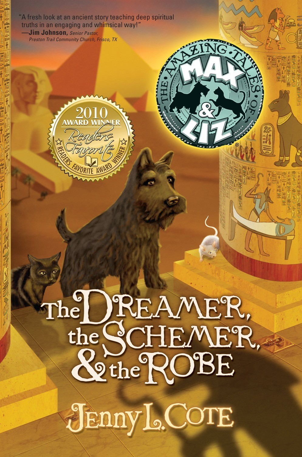 The Dreamer, the Schemer, and the Robe (Book Two) Personalized by Jenny