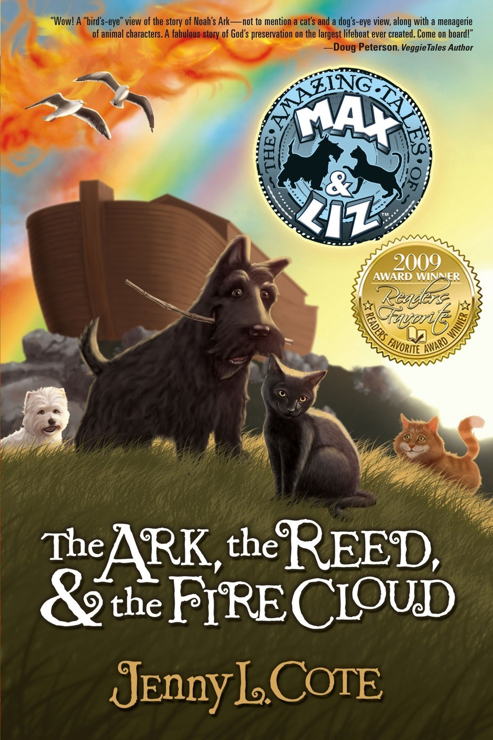 The Ark, the Reed, and the Fire Cloud (Book One) Personalized by Jenny