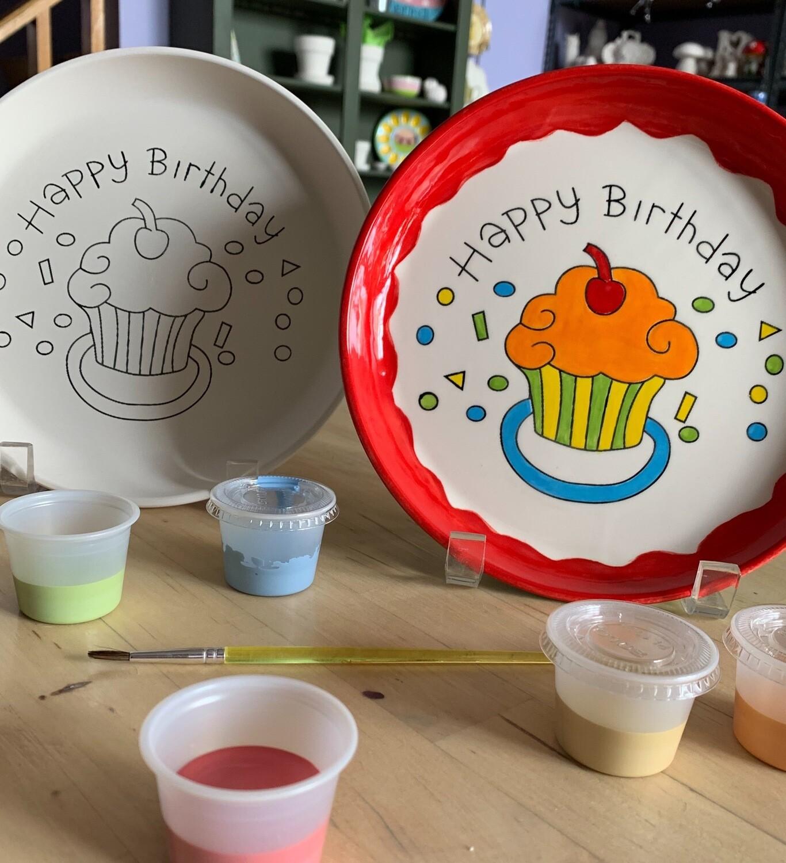 Birthday Plate Kit