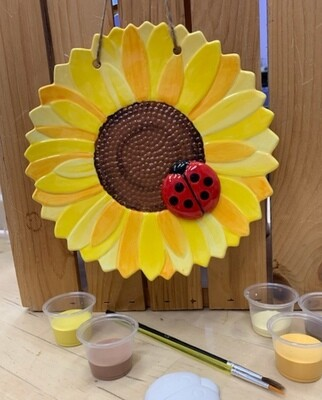 Sunflower Plaque Kit