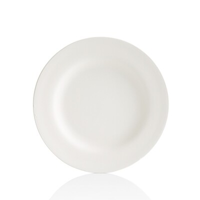 Round Rimmed Salad Plate