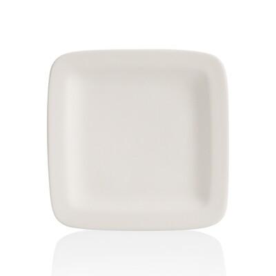 Square Rimmed Salad Plate