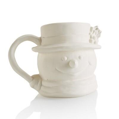 Vintage Snowman Mug