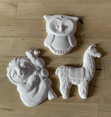 Animal Assortment Ornament Kit