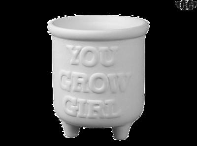 You Grow Girl Planter