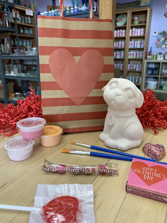 Valentine Pug Goody Bag