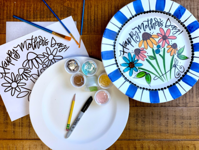 Mothers Day Plate Kit