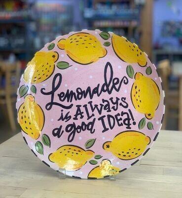 Lemonade Platter Adult Class