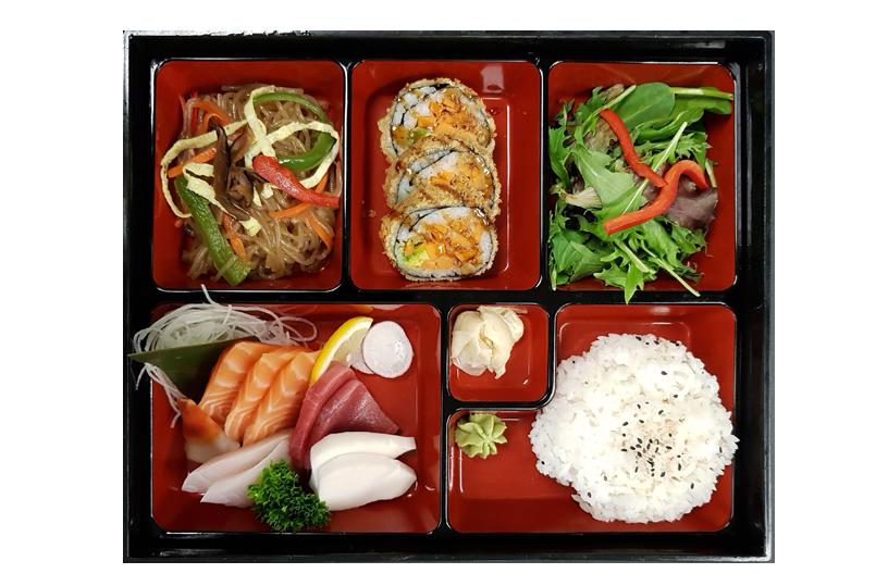 C. SASHIMI BOX LUNCH