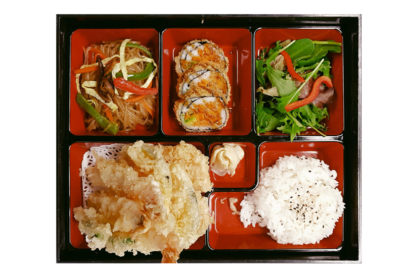 H. TEMPURA BOX LUNCH