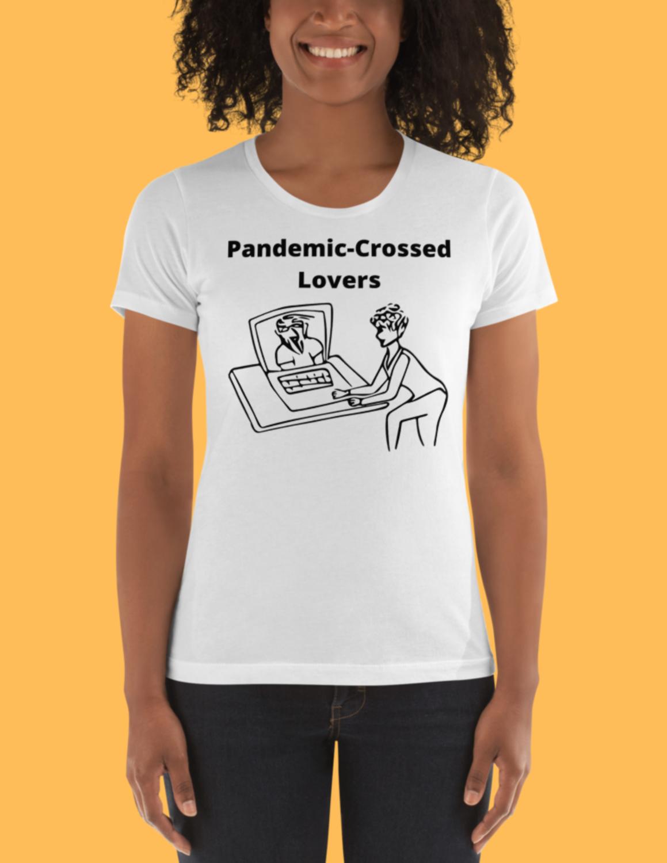 Custom Couples Drawing T-Shirt
