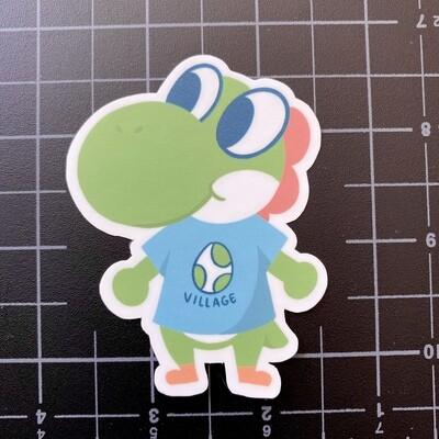 Yoshi Villager Sticker