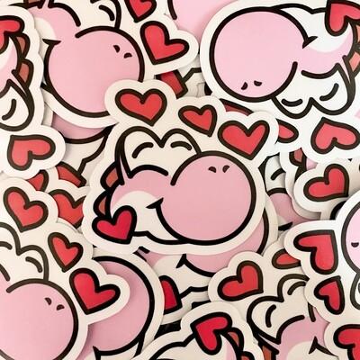 Love Yoshi Sticker
