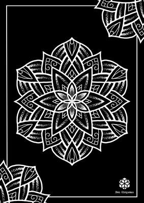 Print A3 - série n°1 - Negative Mandala