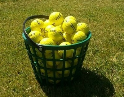 Small Bucket Range Balls