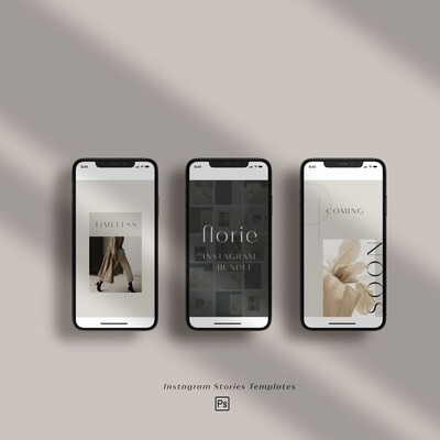 FLORIE - Templates Stories IG