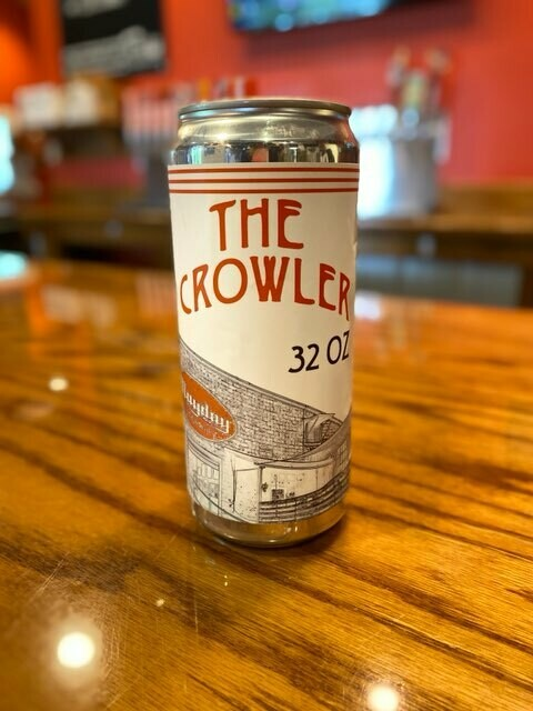32 oz. Crowler