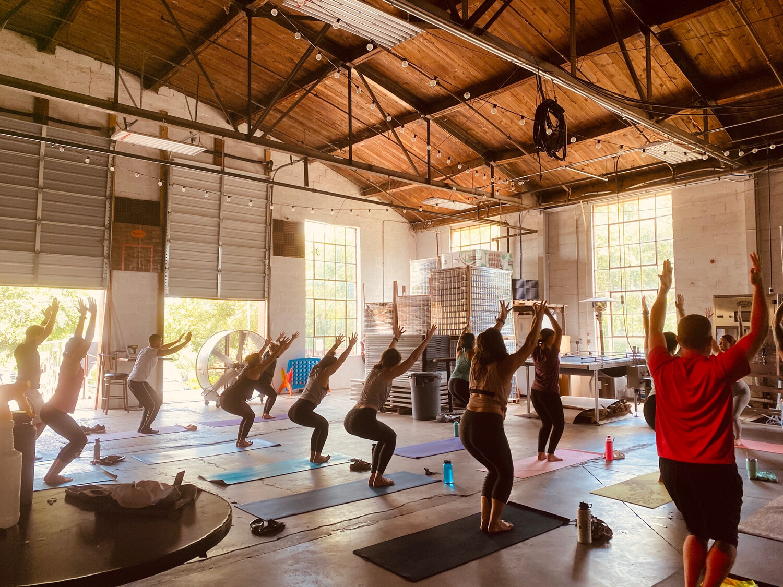 Saturday Yoga Class