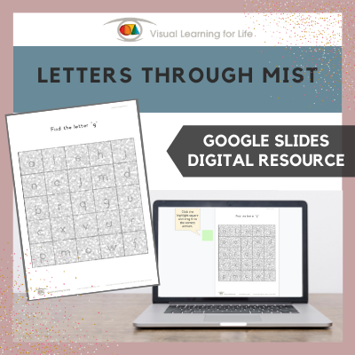 Letters Through Mist (Google Slides)