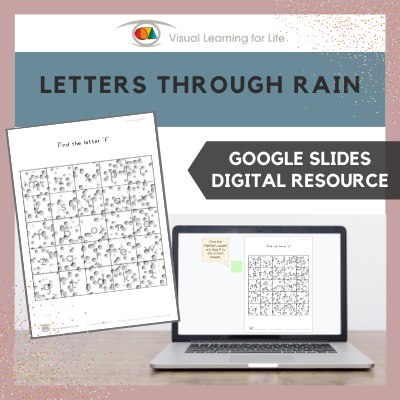 Letters Through Rain (Google Slides)