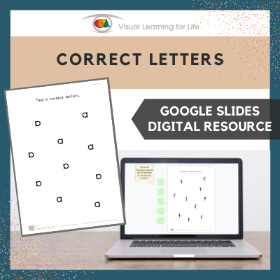 Correct Letters (Google Slides)