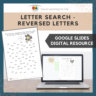 Letter Search–Reversed Letters (Google Slides)