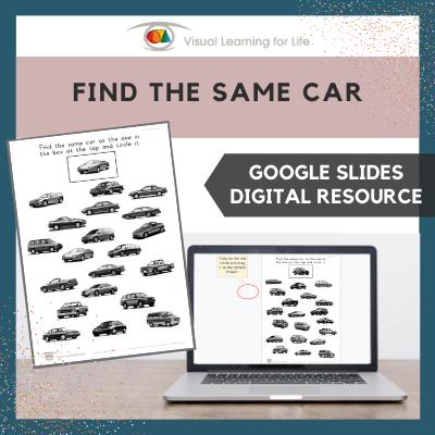Find the Same Car (Google Slides)