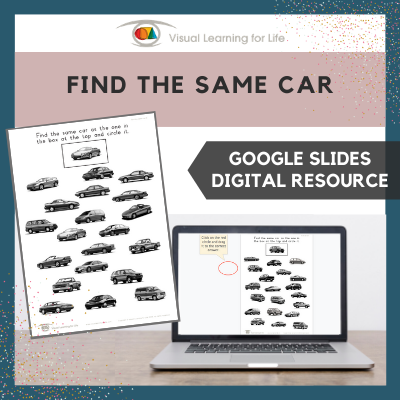 Find the Same Car (Google Slides)
