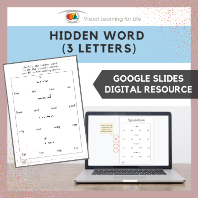 Hidden Word (3 Letters) (Google Slides)