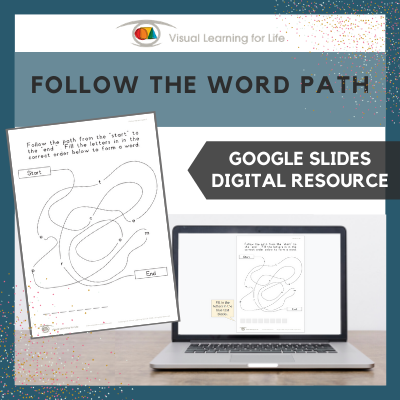Follow the Word Path (Google Slides)