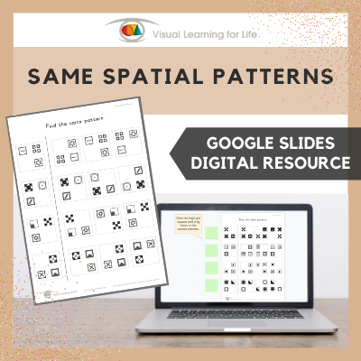 Same Spatial Patterns (Google Slides)