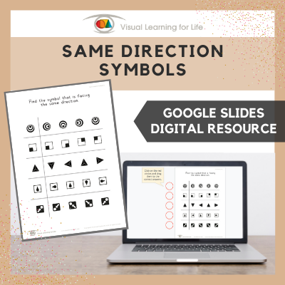 Same Direction Symbols (Google Slides)