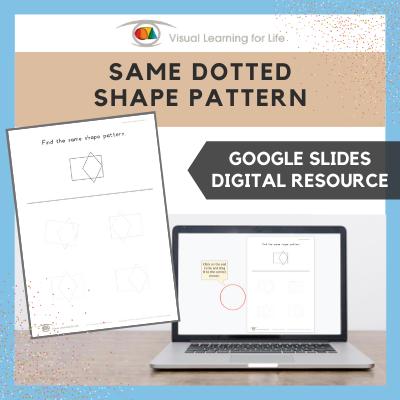 Same Dotted Shape Pattern (Google Slides)