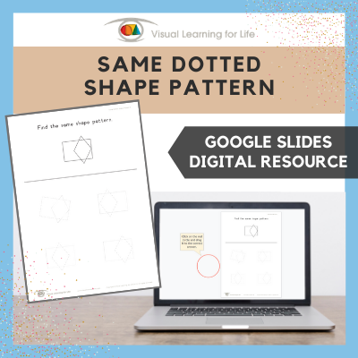Same Dotted Shape Pattern (Google Slides)