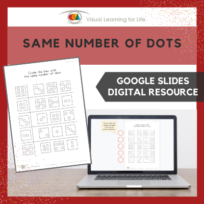 Same Number of Dots (Google Slides)