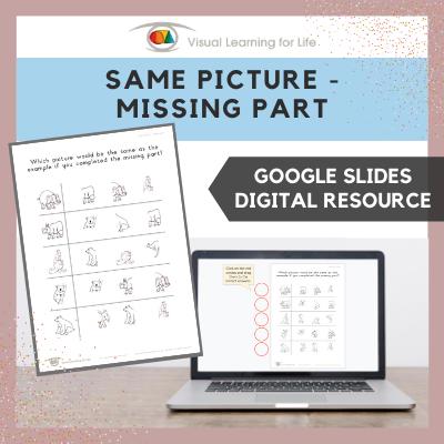 Same Picture – Missing Part (Google Slides)