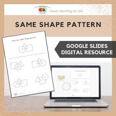 Same Shape Pattern (Google Slides)