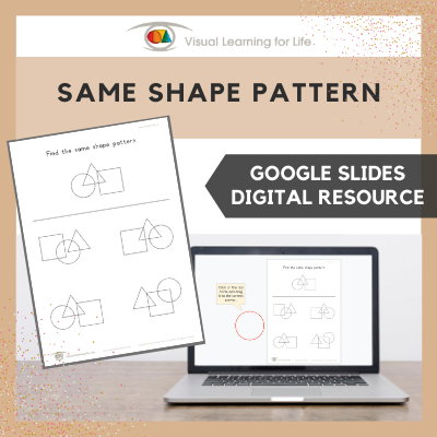 Same Shape Pattern (Google Slides)