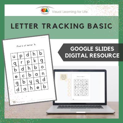 Letter Tracking Basic (Google Slides)