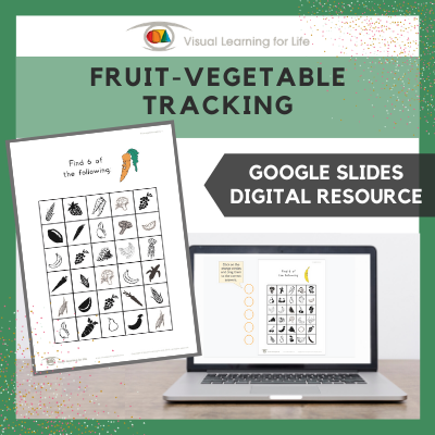 Fruit-Vegetable Tracking (Google Slides)