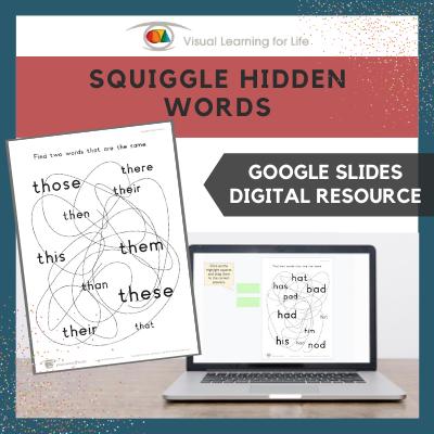 Squiggle Hidden Words (Google Slides)