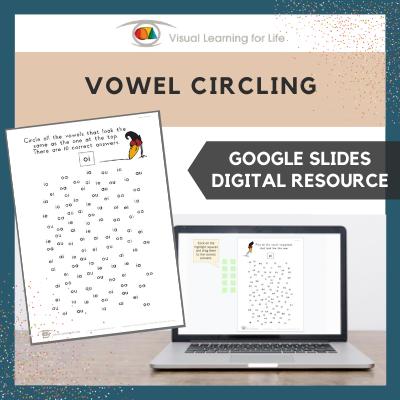 Vowel Circling (Google Slides)