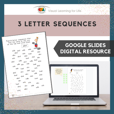 3 Letter Sequences (Google Slides)