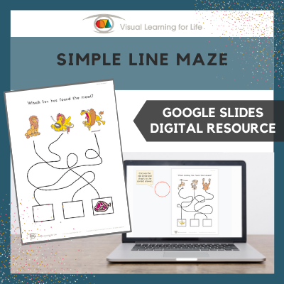 Simple Line Maze (Google Slides)